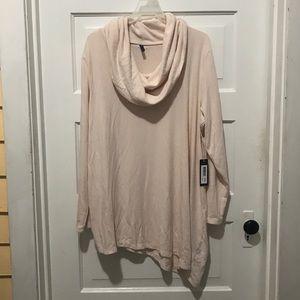 NWT NYDJ Plus Size Cowl-Neck Sweater